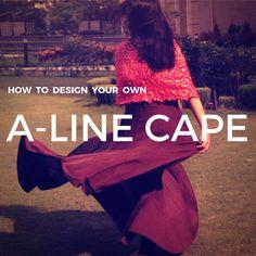 A-Line Cape - Design Your Own