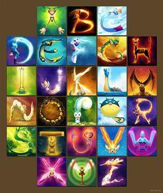 The Pokémon Alphabet