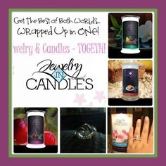 https://www.jewelryincandles.com/store/angelanwilliams Try these wonderful soy based candles with a surprise on the inside. Your surprise is an article of jewelry that can range in worth from $10-$7500.  These candles make a wonderful gift your loved one, or yourself for anytime of the year. Browse my webpage. Try them today.  https://www.jewelryincandles.com/store/angelanwilliams #JewelryInCandles