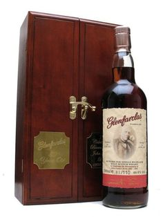 The World's Most Expensive Bottles of Scotch - Glenfarclas 1955, 50 years old: $10,878  Bottled on September 30th, of 2005, exactly 50 years after it was distilled, this 110-bottle limited addition was released in celebration of the bicentennial birthday of the Glenfarclas founder, John Grant. All 110 bottles of this limited edition bottle sold out before it was even officially released.