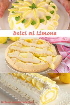 Tantissime idee di DOLCI AL LIMONE: biscotti, torte, snack e tanto altro! Ricette di Benedetta.