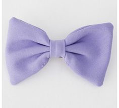 Purple bow :)