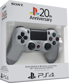 Rare NEW Grey Anniversary PlayStation 4 Duakshock 4 Wireless Controller Playstation 2, Control Ps4, Videogames, Consoles, Nintendo Sega, Ps4 Controller, Retro Video Games, Ps4 Games, Gaming