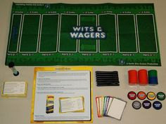Wits and Wagers. This is the best game!- We will have a closet full of games and this will definately be in there