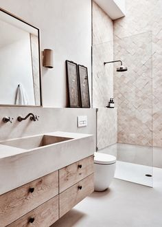 Modern Bathroom Design, Bathroom Interior Design, Interior Decorating, Decorating Bathrooms, Decorating Ideas, Bathroom Renos, Master Bathroom, Ikea Bathroom, Bathroom Storage