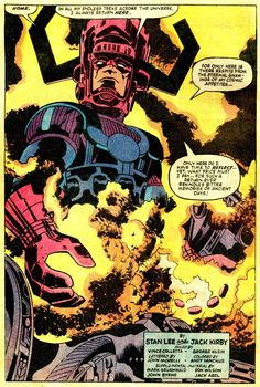 Images for : Celebrate the King's Birthday With 98 of CBR's Favorite Jack Kirby Images - Comic Book Resources Old Comic Books, Comic Book Pages, Comic Book Artists, Comic Book Covers, Comic Book Characters, Comic Artist, Comic Character, Old Comics, Vintage Comics