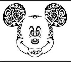 mickey swirl svg file - Yahoo Image Search Results