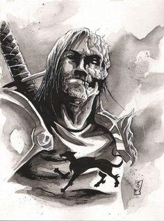 The Hound - Game of Thrones - Matt Slay