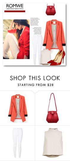 """""""Bag Romwe"""" by natzumys ❤ liked on Polyvore featuring TIBI, Christian Louboutin, women's clothing, women's fashion, women, female, woman, misses and juniors"""
