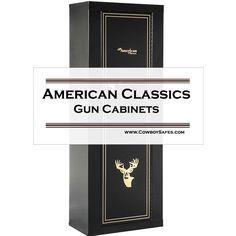 American Classics 10   Gun Metal Cabinet
