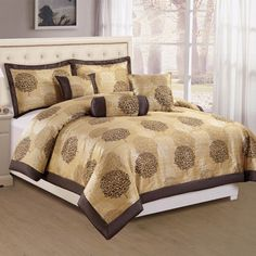 GEORGIA Decorative Comforter Set Comforter Sets, Dorm, Comforters, Georgia, Bronze, Blanket, Bed, Furniture, Home Decor