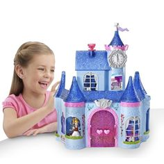 Amazon.com: Cinderella Magic Clip Castle Doll House: Toys & Games