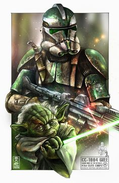 Star Wars is an American epic space opera franchise, created by George Lucas and centered around a film series that began with the eponymous Star Wars Saga, Star Wars Fan Art, Star Wars Clone Wars, Star Wars Characters Pictures, Star Wars Pictures, Star Wars Images, Guerra Dos Clones, Star Wars Painting, Star Wars Drawings