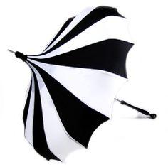 Pagoda umbrella.... Reminds me of a circus tent, minus the colors! Lol