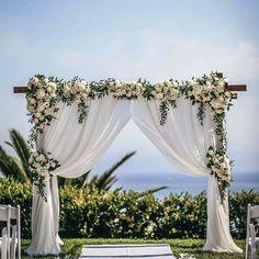 A Wedding Flowers Idea That Benefits Your Community – Best Wedding Planning Tips Wedding Ceremony Arch, Wedding Altars, Arch For Wedding, Wedding Venues, Elegant Wedding, Dream Wedding, Diy Wedding, Budget Wedding, Wedding Suits