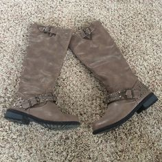 Boots!!! Wore once just too small for me...NOT VS just listed for exposure PINK Victoria's Secret Shoes