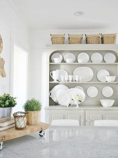 Looking for the best neutral paint colors for your home? I have a few suggestions with my tried and true, my go-to, my best neutral paint colors that I've tried over and over and over again. Here's a list of the best neutral paint colors on the planet. Farmhouse Style Kitchen, Modern Farmhouse Kitchens, Farmhouse Style Decorating, Farmhouse Decor, Farmhouse Interior, Beautiful Kitchens, Cool Kitchens, All You Need Is, Best Neutral Paint Colors