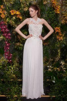 Otilia Brailoiu wedding dress