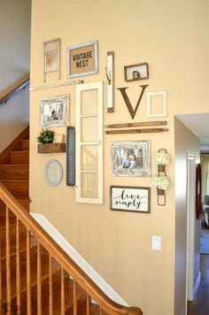 Stair Wall Decor s if your stairway walls are empty here s what you re missing