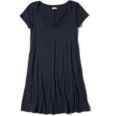 Hollister Strappy Swing T-Shirt Dress