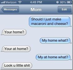I'm Comin' Home: | 26 Texts You Need To See Before You Die