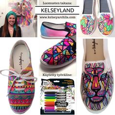 Takana, Slippers, Hand Painted, Shoes, Fashion, Moda, Zapatos, Shoes Outlet, Fashion Styles