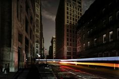 "Christophe Jacrot's ""New York in Black"" series captures the storm ravaged city at its most surreal."