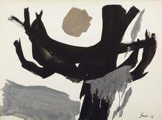 Jack Bush - 'Grey Sun'