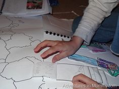 What caused World War 2? a hands on lesson using maps and colored pencils