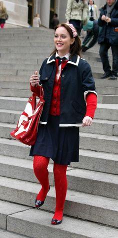 Gossip Girl #navy #BlairWaldorf #LeightonMeester