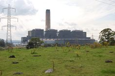 Longannet power station /lɒŋˈænɨt/ is a large coal-fired power station in Fife capable of co-firing biomass, natural gas and sludge. The station is situated on the north bank of the Firth of Forth, near Kincardine on Forth. Its generating capacity of 2,400 megawatts is the highest of any power station in Scotland. The station began generating electricity in 1970, and when in became fully operational, it was the largest coal-fired station in Europe.