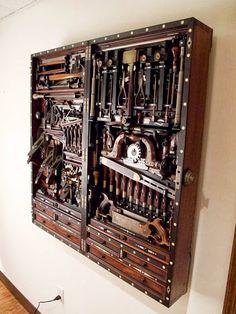 102 Meilleures Images Du Tableau Coffre Outils Tool Box Wooden
