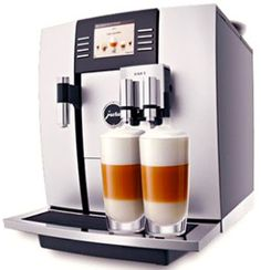 Super automatic espresso machines. A few reviews of the best popular machines, a guide on how to choose a super automatic, and an info-graphic with espresso based beverages.