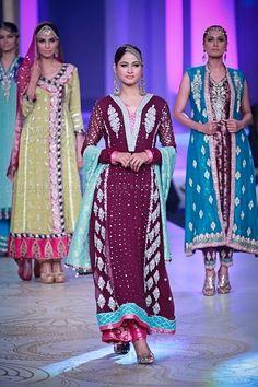 Pakistani Formal Wear - Sana Abbas