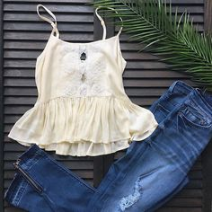 Pair our new cream crop with our high waisted denim accented with a trendy ankle zip 🌼 #clothingoptionalboutique #spring2017 #spring #goodoldays #pacificgrove #downtownpacificgrove #downtown #monterey #carmel #carmelbythesea #pebblebeach #salinas #marina #seaside #santacruz #bigsur #montereylocals - posted by 🔸Clothing Optional Boutique🔸 https://www.instagram.com/clothingoptionalboutique. See more of Big Sur at http://bigsurlocals.com