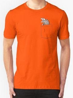 """Pocket Cat"" T-Shirts & Hoodies by Royi Berkovitz | Redbubble"