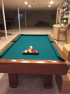 Good Brunswick Billiards Hawthorne Pool Table Sold