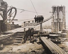 The Brooklyn Bridge, ca. 1880
