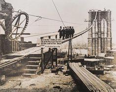 Brooklyn Bridge, ca. 1880