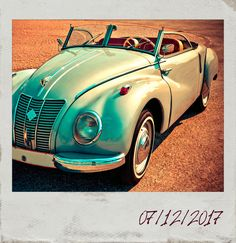 Do you want to take a #ride with #PolaroidFx? #Polaroid #Frame #Filter #Vintage #Italy #Rome #Car #Classic #Motor #Drive #Convertible