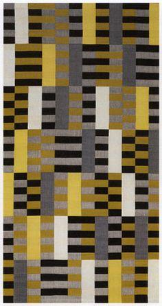 Anni Albers, Black-White-Yellow, 1926