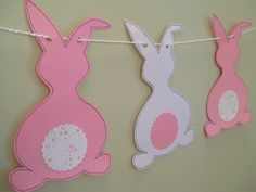 Fun Easter Craft, Bunny Banner