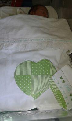 Terceiro dia em verde. Têxteis by BabyHome Handmade.