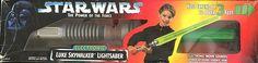 Star Wars Power of the Force Electronic LUKE SKYWALKER LIGHTSABER