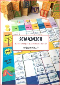new Ideas for school organization printables activities Back To School Activities, Toddler Activities, Montessori Education, Home Schooling, School Organization, Learn French, Educational Activities, Kids And Parenting, Kids Learning
