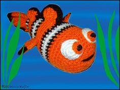 clown fish - free pattern.