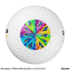 dice game 2  Wilson Ultra 500 Distance Golf Ball