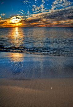 Australia sunset. #beach