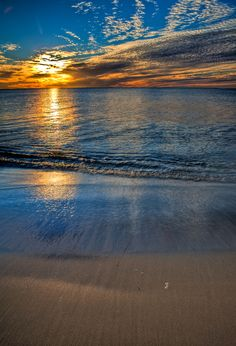 Australia sunset. #beach
