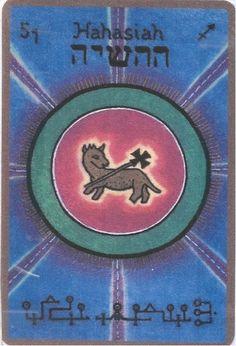 HAHASIAH, Le modeste Ange gardien du 3 au 7 décembre Nom divin: BILA Il est le 51eme Ange et le 3eme ange appartenant au 7eme chœur «Le chœur des Principautés» Il est sous les ordres de l'Archan…